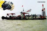 バケツの車輪の浚渫船
