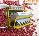 Machine de procédé de nourriture de séparateur d'haricot de trieuse de couleur d'haricot rouge de Vsee