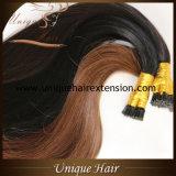 Extensões que desenhadas do cabelo da queratina da fusão de Remy do Virgin dobro brasileiro eu derrubo