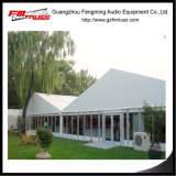 كبير إحتفال خيمة بنية مع [غلسّ ولّ] تصميم