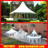 100-150 Tent Gazebo van de Partij van het Huwelijk van de Luifel van de Pagode van mensen de Hexagonale
