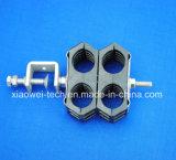 Double bride de câble d'alimentation de carte pour 1/2 7/8 câble coaxial de liaison