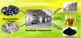 Machine de rebut de pyrolyse de pneu avec du CE, le GV, l'OIN et le brevet national
