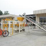 Машина делать кирпича полуавтоматного Vibro мотора конкретная Китая