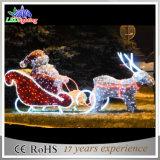 Licht van het Rendier en van de Ar van de gematigde LEIDENE van de Prijs Decoratie van Kerstmis het Openlucht