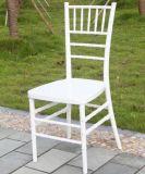 Белый пластмассовый Кьявари стул (ZJY001W)