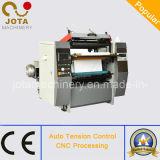 Papel térmico de doble capa automática Máquina de corte longitudinal (JT-FAX-900B)