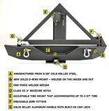 De Auto AchterBumper van uitstekende kwaliteit met de Carrier van de Reserveband
