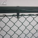 Maillon de chaîne en acier galvanisé à chaud de clôtures de feux de croisement