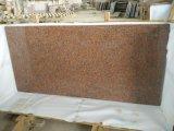 G562 Plaques de granit rouge érable pour comptoirs de cuisine Tombstone