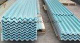 Papelão Ondulado GRP de fibra de vidro Painel de Telhado de fibra de vidro