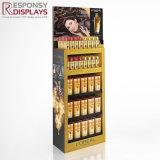 Grand bois Plancher personnalisé Shampooing Soins des cheveux produit des étagères d'affichage