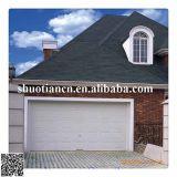 2014 Nuevo tipo de control remoto de grano de madera puerta de garaje seccionales