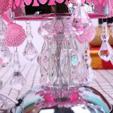 普及した花様式の金属の電気精油バーナー夜ライトランプ