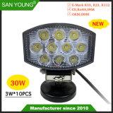 4inch 30W Nouveau Style d'entraînement de LED Voyant Voyant des feux de travail chariot tracteur phare de travail projecteur Spotlight
