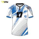 Impression par sublimation thermique Spandex Fidji maillots de rugby personnalisé