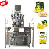 Os chips de fotografia/chips de banana/Sementes de girassol/Doces Pesagem Premade embaladora Zipper Bag máquinas de enchimento de azoto