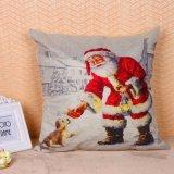 Van de Katoenen van de Kerstman van Kerstmis de Dekking van het Kussen van het Geval van het Hoofdkussen Bank van het Linnen