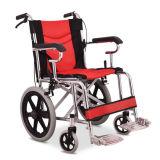 Sedia a rotelle di alluminio manuale per gli anziani