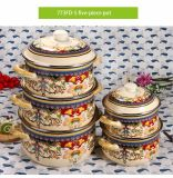 5 PCS de alta calidad Utensilios de Cocina con cubierta de esmalte