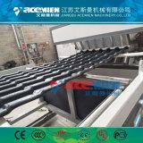 Toit vitré ondulé en PVC/Tile Making Machine/l'extrusion/production