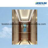 13 Человек деревянный лифт со стороны пассажира
