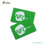 Highquality13.56MHz NFCの試供品が付いているPVCによって前払いされる名刺