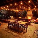 結婚披露宴の庭のヤードの装飾妖精ストリングライト