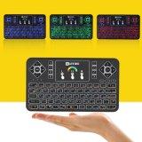 Air Mouse Teclado Q9 en ruso mini soporte para teclado Smart TV Box, PC, Pad, Google Android TV Box, el HTPC Supoort WiFi inalámbrico de 2,4 Ghz Teclado remoto