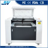 6090 macchina per incidere del laser del CO2 di controllo di 60With80W DSP per vetro/bambù