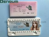 Het Gediplomeerde Systeem Monoblock MIM Roth Angela Orthodontic Braces van de Vervaardiging ISO/Ce/FDA van Denrum