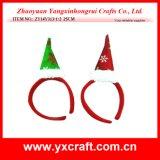 Juego de la aduana de la cornamenta de la Navidad de la decoración de la Navidad (ZY14Y32-1-2 los 22CM)