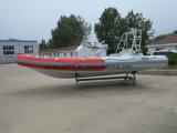 Aqualand 21.5feet 6.5mの肋骨の膨脹可能なモーターボートか/Rescueの潜水のボート(RIB650B)
