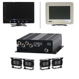 4CH H. 264 Realtime 3G Mobile Mini Hard Disk Car Video DVR System mit GPS Function