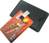 Mecanismo impulsor de la tarjeta de crédito del flash del USB con la insignia de la impresión (GT301)