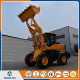中国1.8トンのフロント・エンドローダーの小型ローダーの土工の機械装置の構築機械装置の価格