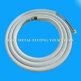 Isolierklimaanlagen-Kupfer-Rohrleitung mit gewölbtem Rohr