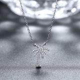 925純銀製の宝石類の木の形のペンダントのネックレス