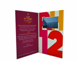 7.0inchビデオビジネス招待のカード