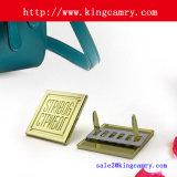 Het Etiket van het Metaal van het Etiket van het Embleem van het Metaal van het Etiket van de Hardware van de Zak van het Etiket van het metaal voor de Kleding van de Schoen van de Handtas