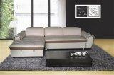 Mobília de sofá reclinável de couro para encosto de cabeça ajustável (Y992)