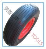 Полиуретановая пена колеса для Wheelbarrow /Корзина инструментов/ручной тележке