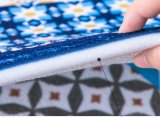 Modern printed Non-Silp mat avec support en plastique non tissé chute