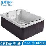 Baquet chaud de modèle de vague déferlante de massage de STATION THERMALE extérieure célèbre moderne de loisirs (M-3371A)