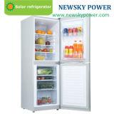 frigorifero autoalimentato solare solare e congelatore di CC di CA 350L
