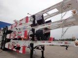 Cimc Behälter-2 LKW-Schlussteil-Amerikaner Stardard des Wellen-Skeleton 40feet