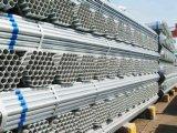 El tubo/la INMERSIÓN caliente galvanizados galvanizó la sección de la depresión del tubo de acero/el tubo roscado del soldado enrollado en el ejército del conducto