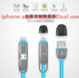 1개의 보편적인 USB 케이블에 대하여 철회 가능한 2