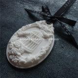Oval decorativo que cuelga del aroma perfumado de cerámica (PM-27)