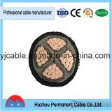 Câble d'alimentation électrique de faisceaux de VV/Vlv VV22 VV32 0.6/1kv de PVC d'isolation de gaine de cuivre de PVC